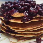 Gluten Free Paleo Pancakes with Berries
