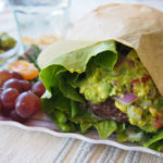 Avocado Salad Wrap Burger