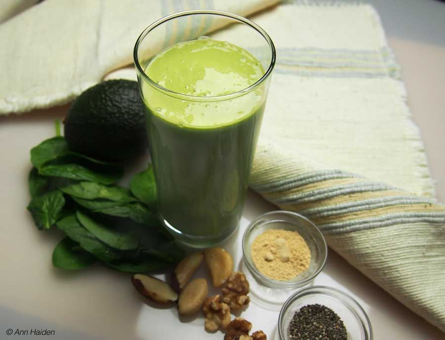 Kefir Green Smoothie Dr Ann Haiden